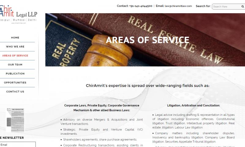 Chir Amrit Legal LLP- website screenshot_3