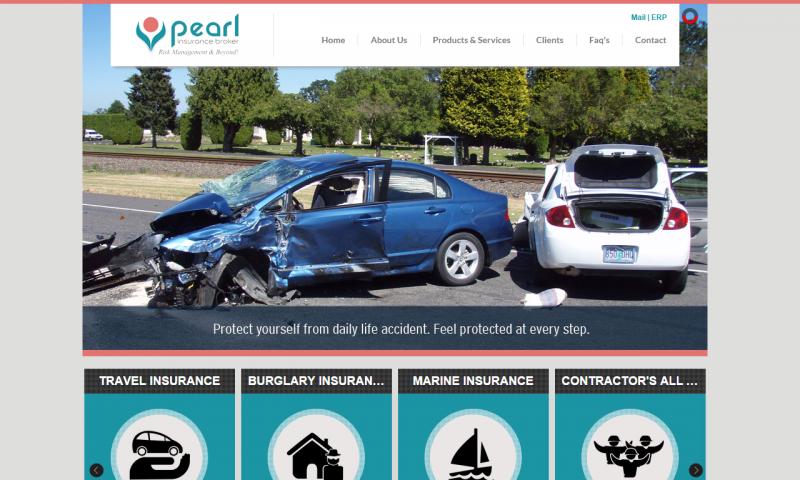Pearl Insurance Broker - website screenshot_3