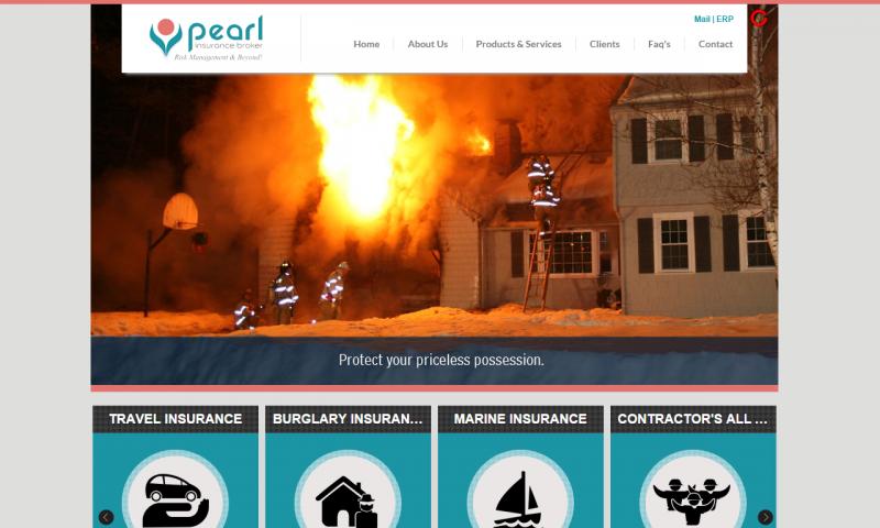 Pearl Insurance Broker - website screenshot_4